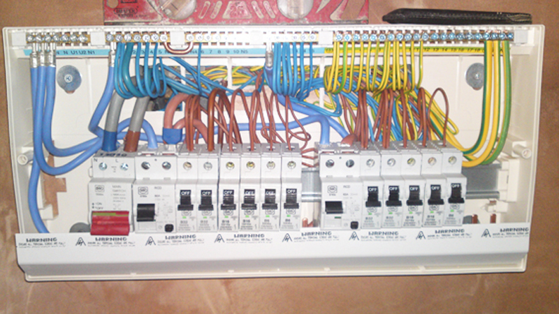 Hager Electrical Fuse Box : Diamond electrical installations